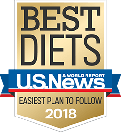 Ranked a Best Diet for 8 years straight!