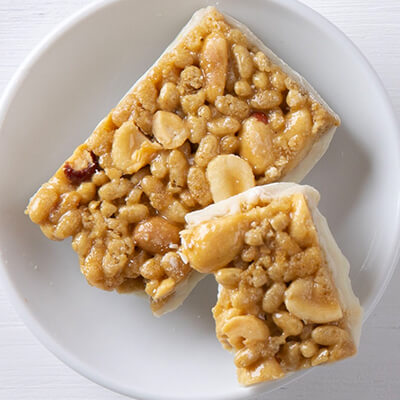Sweet and Salty Peanut Bar