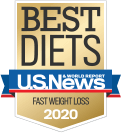 Ranked a best diet for EASY to follow and FAST weight loss for 10 years!