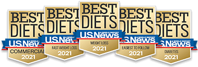 Ranked a best diet 10 years straight.