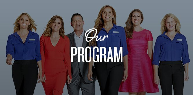 Our program: group of Jenny Craig members and consultants