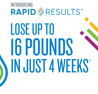 Lose up to 16 lbs in just 4 weeks†