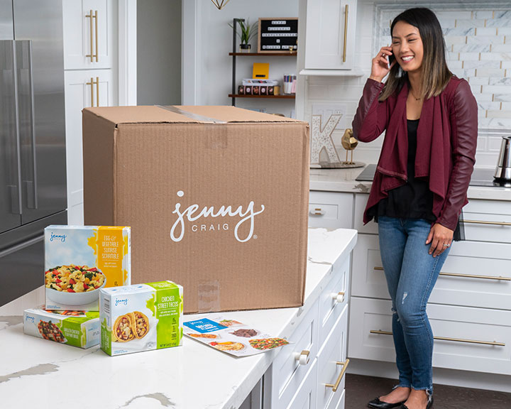 Jenny Craig Member with Home Delivery