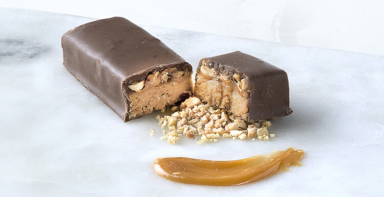 Nutty Chocolatey Caramel Bar