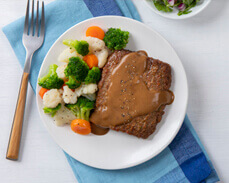 Jenny Craig Food: Homestyle Meatloaf & Vegetables