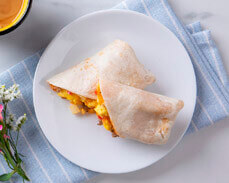 Jenny Craig food: Egg, Cheese and Turkey Sausage Burrito