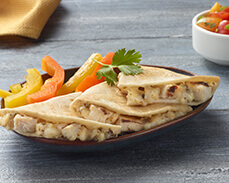 Jenny Craig food: Baja-Style Chicken Quesadilla