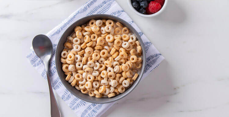 Multi-Grain Hoops Cereal