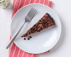 Jenny Craig food: Triple Chocolate Cheesecake