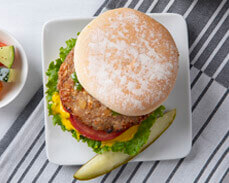 Jenny Craig Food: Turkey Burger