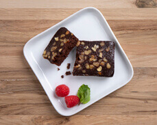 Jenny Craig food: Chocolate Walnut Brownie