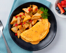 Jenny Craig Food: Cheddar Cheese Omelet