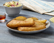 Jenny Craig food: Fish and Chips