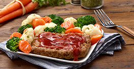 Meat Loaf with BBQ Sauce
