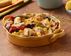 Jenny Craig Food: Southwest Style Chicken Fajita Bowl