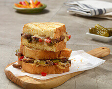 Jenny Craig Food: Philly Cheesesteak Sandwich