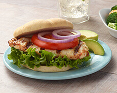Jenny Craig food: Grilled Chicken Sandwich