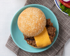 Jenny Craig food: Classic Cheeseburger