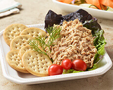 Jenny Craig Food: Tuna Dill Salad Kit