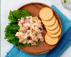 Jenny Craig Food: Chicken Cranberry Salad Kit