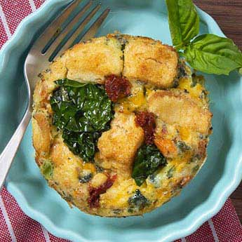 Garden Vegetable Frittata