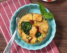 Jenny Craig food: Garden Vegetable Frittata