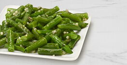 Green Beans with Garlic & Olive Oil
