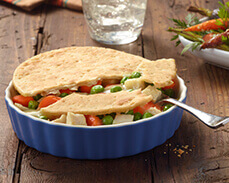 Jenny Craig food: Chicken Pot Pie