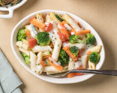 Jenny Craig food: Creamy Penne with Vegetables