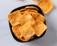 Jenny Craig Food: Cheddar Cheese Crisps