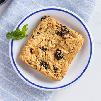 Blueberry & Oats Square