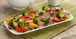 Asian Style Beef with Vegetables