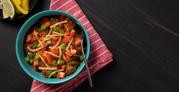 Homestyle Vegetable and Beef Chili