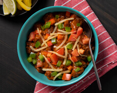 Jenny Craig Food: Homestyle Vegetable and Beef Chili