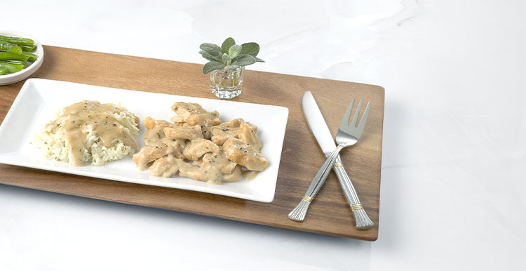 Roasted Turkey with Gravy & Cauliflower Mash