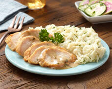 Jenny Craig Food: Roasted Turkey with Gravy & Cauliflower Mash