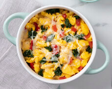 Jenny Craig Food: Egg & Vegetable Sunrise Scramble