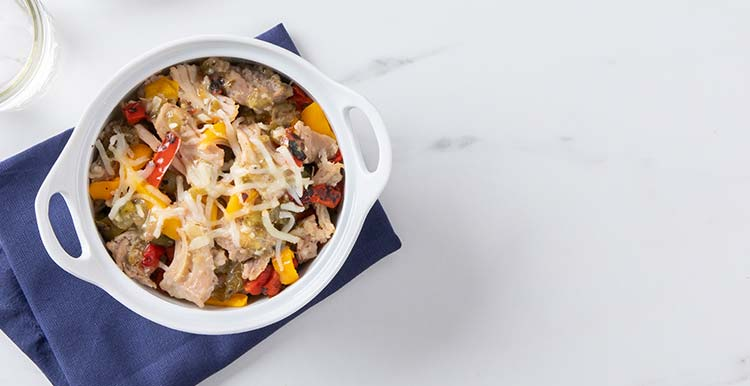 Slow-Cooked Carnitas & Peppers