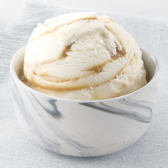 Vanilla Caramel Swirl Reduced Fat Ice Cream