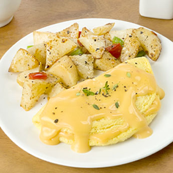 Cheddar Cheese Omelet