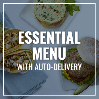 Essential Meal Plan with Auto-Delivery