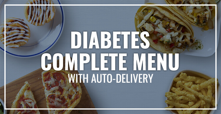Diabetes Complete Menu with Auto-Delivery