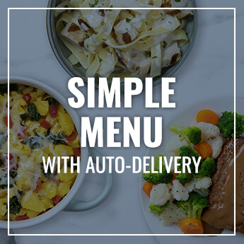 Simple Meal Plan with Auto-Delivery