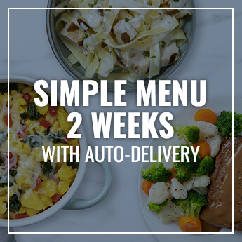 Simple 2-Week Meal Plan with Auto-Delivery
